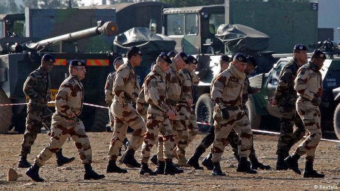 Французские солдаты в Мали