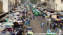 Mali Bamako Straßenszene