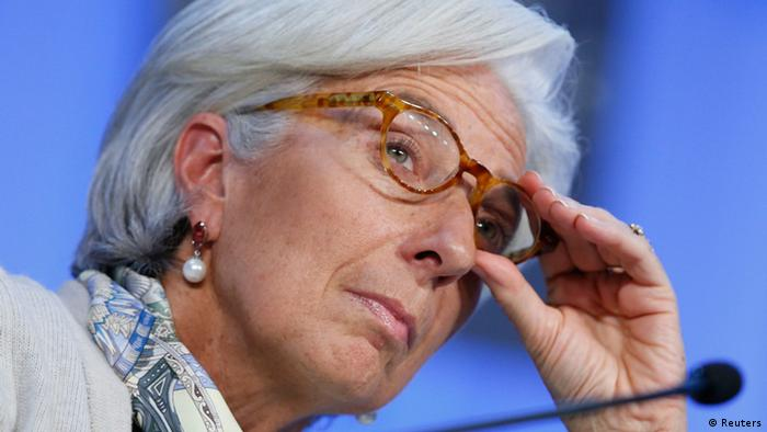 IMF chief Christine Lagarde attends the annual meeting of the World Economic Forum in Davos (Photo: REUTERS/ Pascal Lauener)