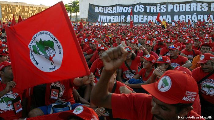 Symbolbild Bewegung der Landarbeiter ohne Boden