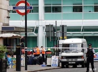London was again racked by terror on Thursday