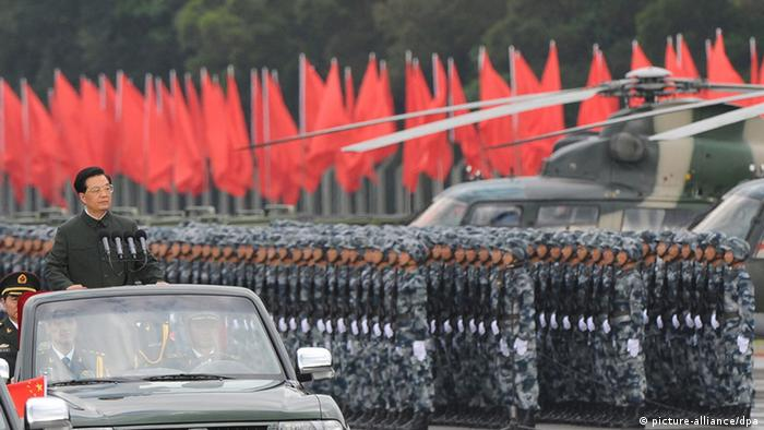 China Militärparade