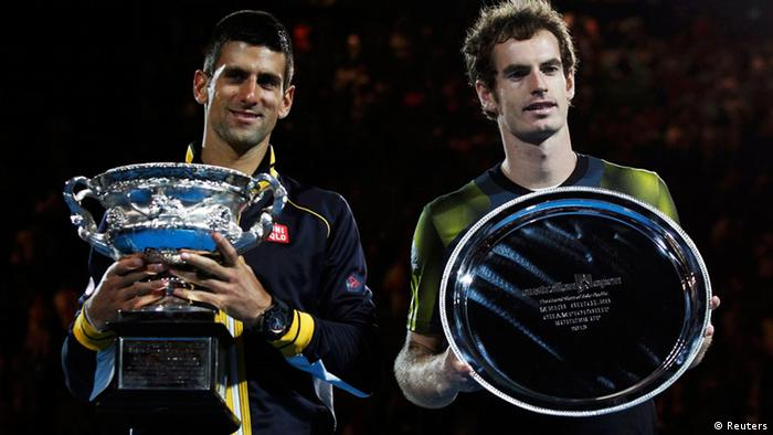 Tennis Australian Open Djokovic Murray