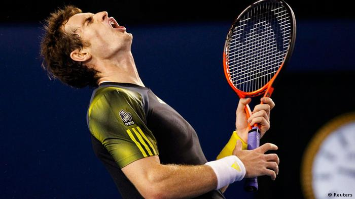 Andy Murray im Finale der Australian Open 2013. Foto: Reuters