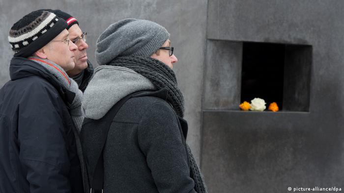Мемориал гомосексуалам - жертвам нацизма в Берлине