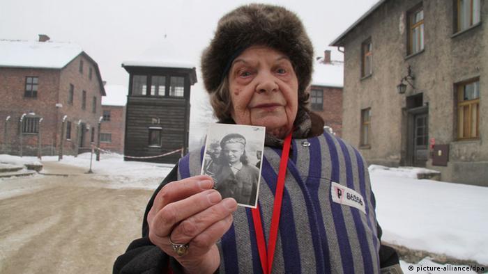 Auschwitz-Überlebende, (Foto: epa)