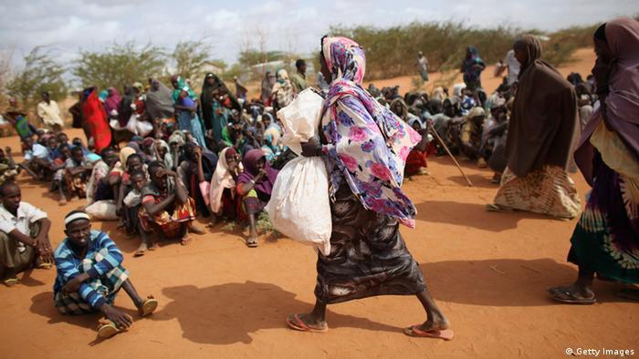 Kenia Dadaab, Somalische Flüchtlinge