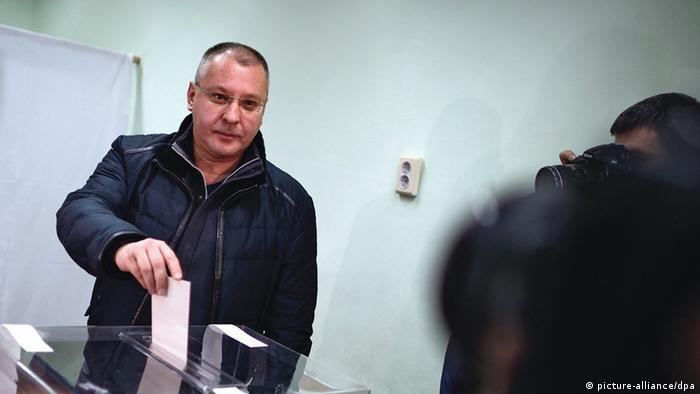 Bulgarien Abstimmung zur Atomenergie Sergei Stanischew