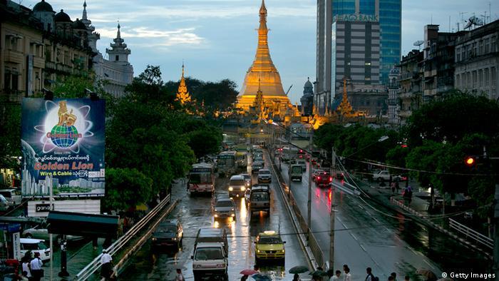 Myanmar Wirtschaft Rangun