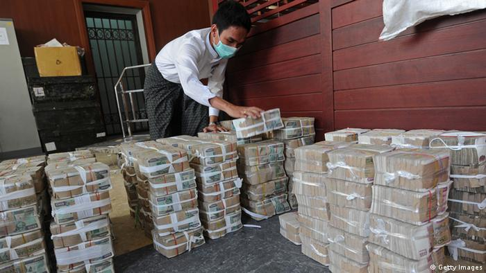 Cash is king in Myanmar, but for how long?   Asia  An in