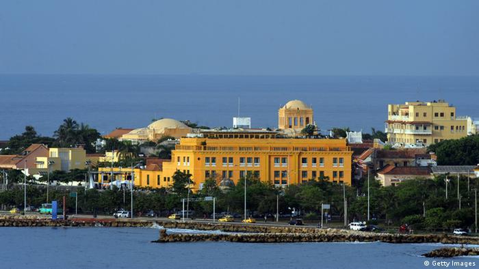 Centro antigo de Cartagena
