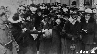 Women voting for the first time in Germany in 1919