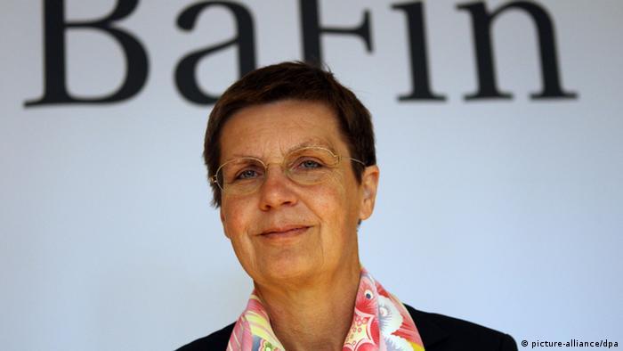 BaFin Präsidentin Elke König (Foto: dpa)