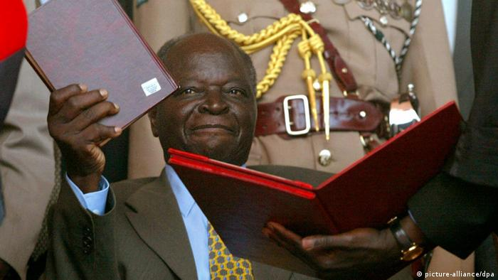 Mwai Kibaki, former president of Kenya (picture-alliance/dpa)