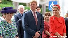 Niederlande Königin Beatrix mit Prinz Willem-Alexander und Prinzesin Maxima