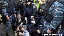 Ukraine Kiew Nationalisten Protest
