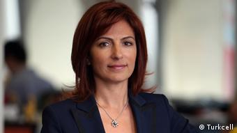 """info: http://medya.turkcell.com.tr/gorsel/Lale_Saral_Develioglu-4.JPG info: Lale Saral Develioglu is Vice General Manager, Chief International Business Officer of TURKCELL. She is also the chairwoman of the board of directors of TURKCELL EUROPE. credit: we are free to use this photo, free of charge, with giving credit to the TURKCELL. (©TURKCELL ) """"Turkish women leaders make a difference"""". I have contacted with the press sections of the organizations; we are free to use them with giving credit to the organizations. Zugeliefert von Ayhan Simsek."""