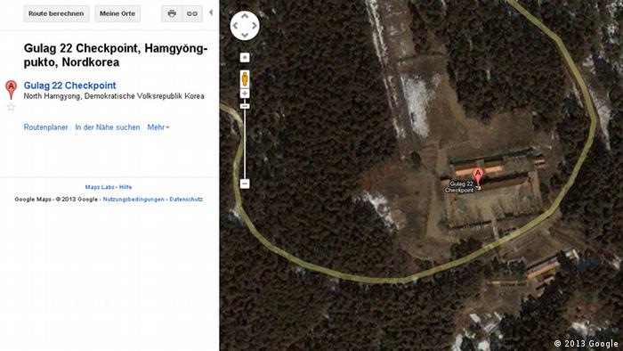 Google Maps Nordkorea Karte Landkarte Map Kartographie Gulag Gefängnis Straflager +++EINSCHRÄNKUNG BEACHTEN+++