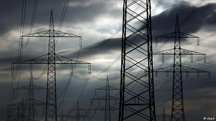 Deutschland Energie Strommasten