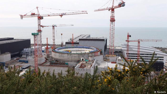 Nuklearkraftwerk Flamanville Foto: REUTERS/Charles Platiau