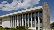 ***Achtung: Nur zur Berichterstattung über die FU Berlin verwenden!*** Henry-Ford-Bau Im 1952 bis 1954 errichteten Henry-Ford-Bau der Freien Universität Berlin befinden sich neben dem Max-Kade-Auditorium (Audimax) weitere Hörsäle und Konferenzräume. Quelle: Bernd Wannenmacher