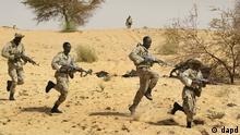 USA Soldat Militärausbilder in Afrika