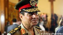 Ägypten Armee Verteidigungsminister Armeechef Abdelfattah Said EL-Sisi