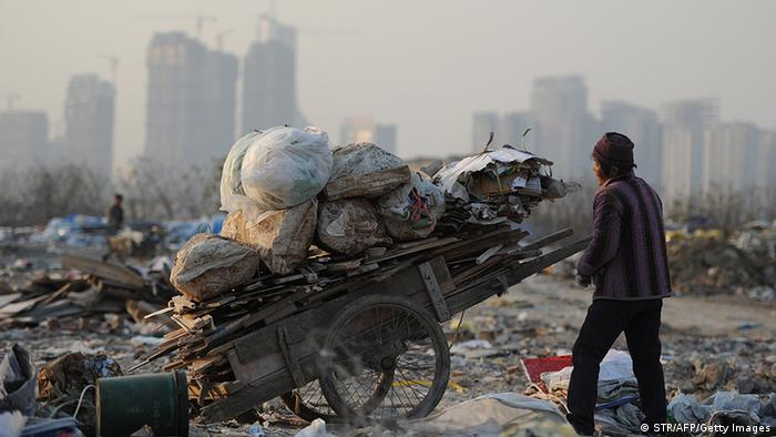 China Armut Müllkippe in Hefei (STR/AFP/Getty Images)