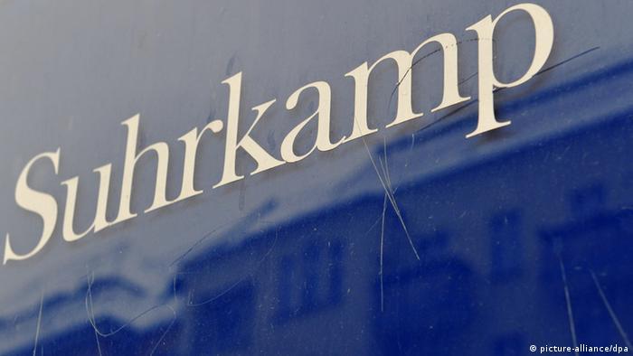 Suhrkamp sign