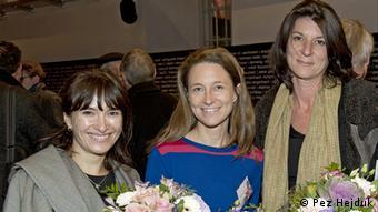 Екатерина Шапиро-Обермаир, Александра Вахтер, Катарина Риттер (слева направо)
