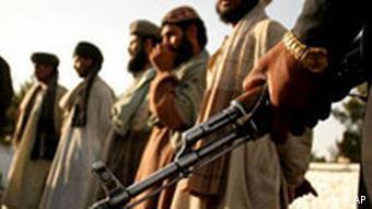 طالبان در مرز پاکستان با افغانستان