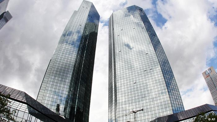 The headquarter of Deutsche Bank is photographed in Frankfurt, Germany Photo:Michael Probst/AP/dapd
