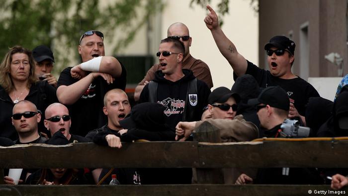 Демонстрация неонацистов