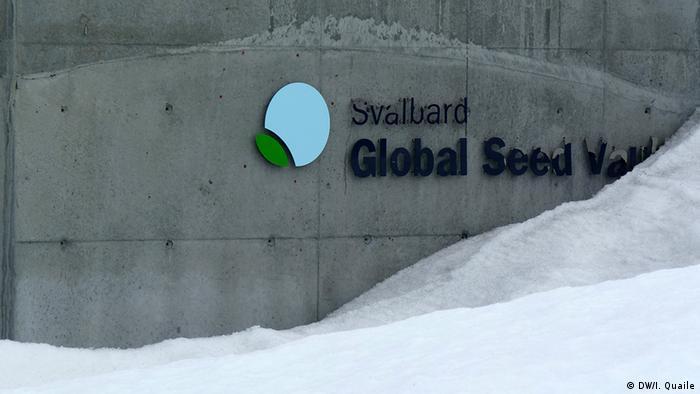 Norwegen Spitzbergen Global Seed Vault