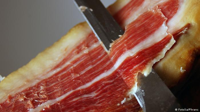 Symbolbild Essen Spanien Jamon Schinken