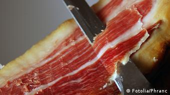 Испанский свиной деликатес хамон