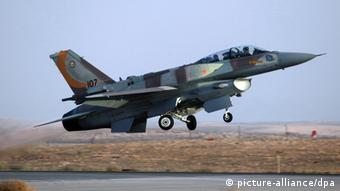 Start eines israelischen Kampfjets (Foto:dpa)