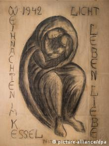 ''Сталинградская Мадонна'' - рисунок немецкого военврача, ставший символом примирения