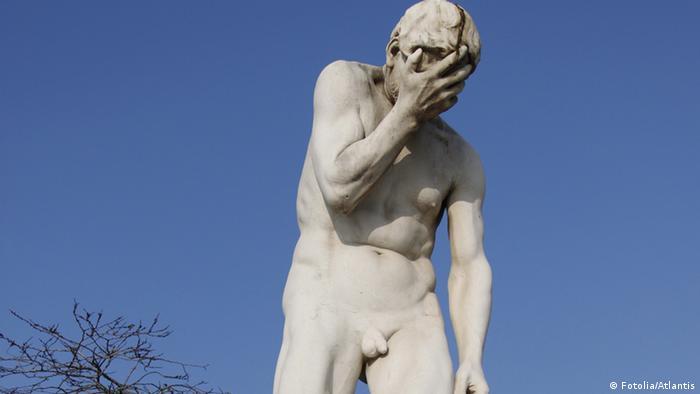 Symbolbild Männlichkeit Statue