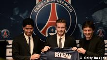 Paris Saint-Germain verpflichtet David Beckham