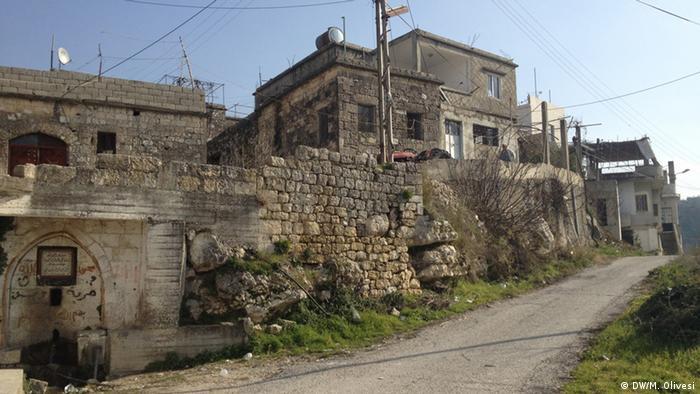 The village of Kurt in Syria Copyight: DW/M. Olivesi