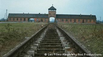 Concentration camp Auschwitz as shown in 'Shoah' Copyright: © Les Films Aleph/Why Not Productions