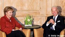 Merkel und Biden Archivbild 07.02.2009