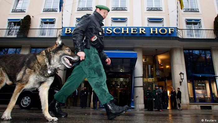 Sicherheitskonferenz München Sicherheitsvorkehrungen