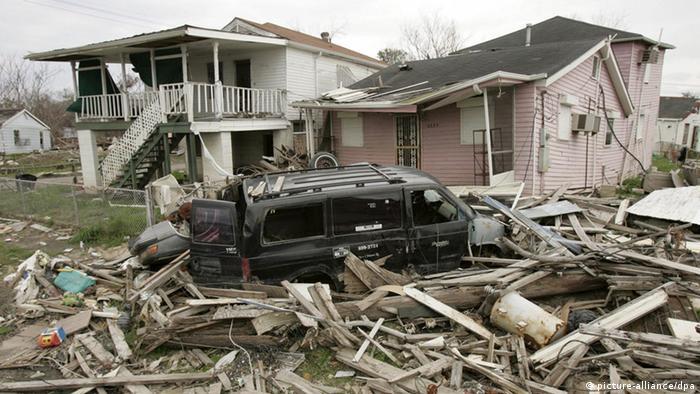 New Orleans, Louisiana Katrina Super Bowl (picture-alliance/dpa)