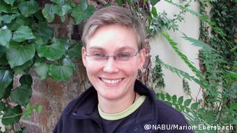 Kathrin Weinberg, NABU Brandenburg in Potsdam (Copyright: NABU/Marion Ebersbach)