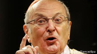Cardinal Joachim Meisner in Cologne (Photo: Oliver Berg / dpa / lnw)