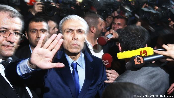 Мехмет Али Агджа след освобождаването му от затвора в Анкара през 2010