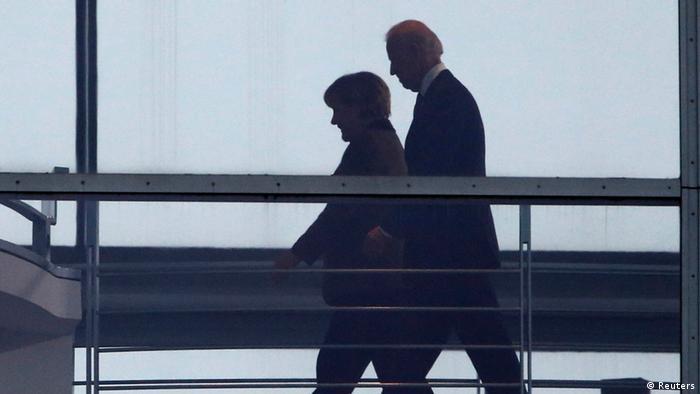 Merkel i Bajden u Berlinu 2013.