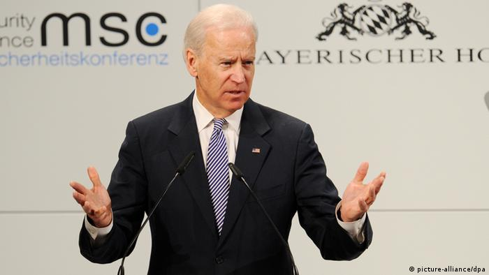 US Vice President Joe Biden at the Munich Security Conference